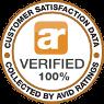 100% Avid Ratings Verified